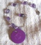 Amethyst-Armand mit Purple Disk USA